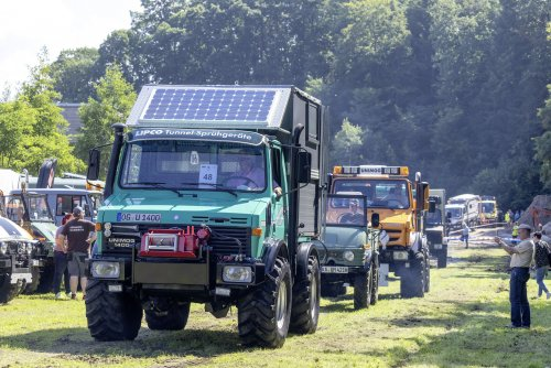 Unimog meerdere, foto van Truckfan Nieuwsposter