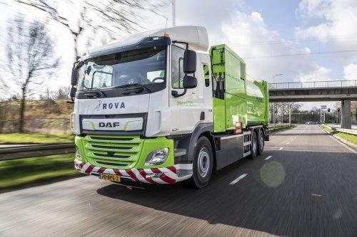 VDL CF Electric, foto van Truckfan Nieuwsposter