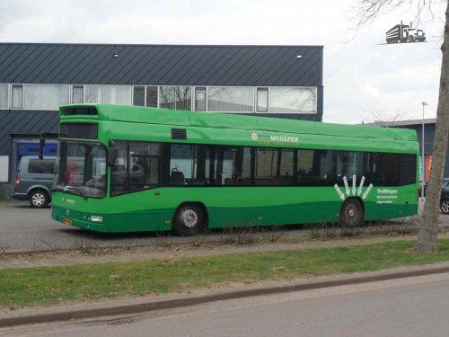 Volvo buschassis, foto van dickt