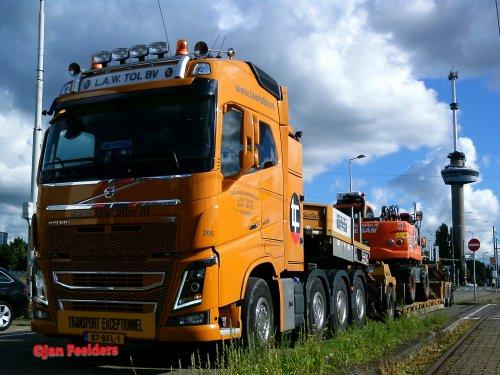 Volvo FH16, foto van Jan F