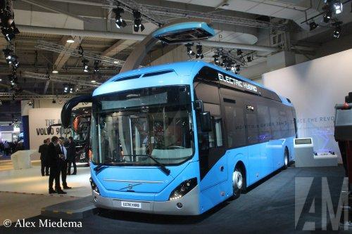Volvo buschassis, foto van Alex Miedema