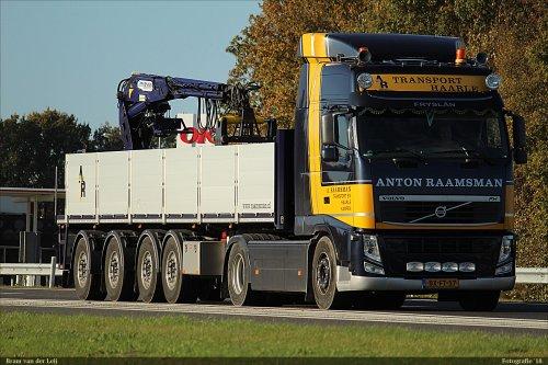 Volvo FH, foto van Bram van der Leij