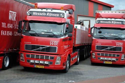 Volvo FH 2nd gen, foto van Lucas Ensing