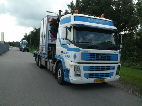 Volvo FM12 2nd gen (vrachtwagen), foto van gekke drent