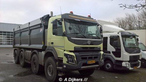 Volvo FMX 2nd gen, foto van arjan-dijkers