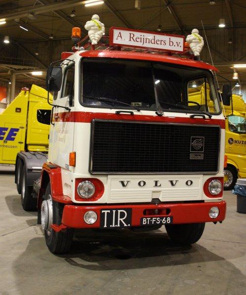 Volvo F89, foto van gekke drent