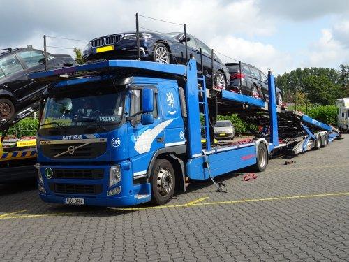 Volvo FM 3rd gen, foto van dickt