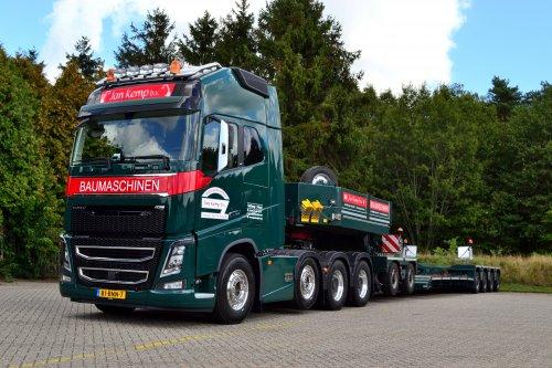 Volvo FH16, foto van Lucas Ensing