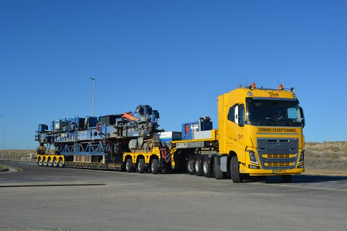 Volvo FH16 4th gen, foto van Truckfan Nieuwsposter