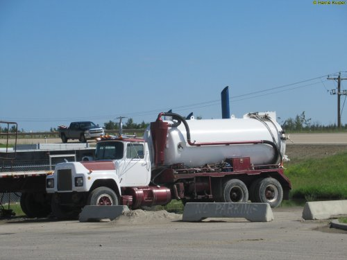 vrachtwagen Mack, foto van oldtimergek