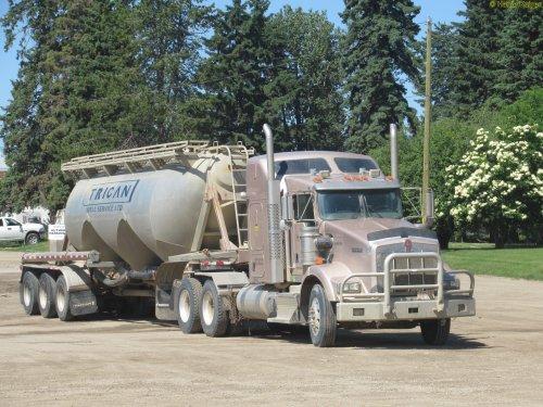 vrachtwagen Kenworth, foto van oldtimergek