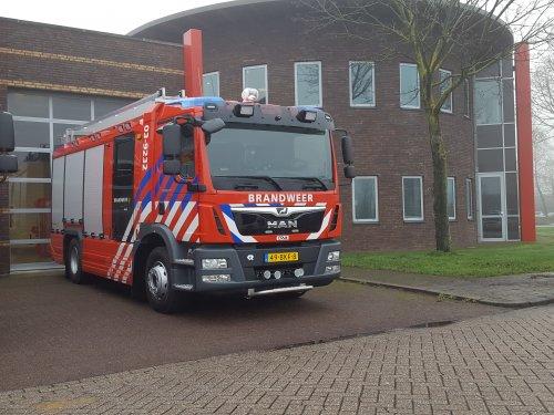 vrachtwagen M.A.N., foto van cor-klok