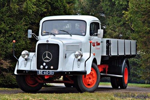 vrachtwagen Mercedes, foto van bernard-dijkhuizen