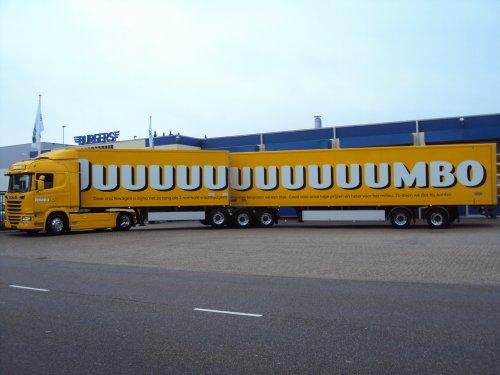vrachtwagen Scania, foto van Jorden_