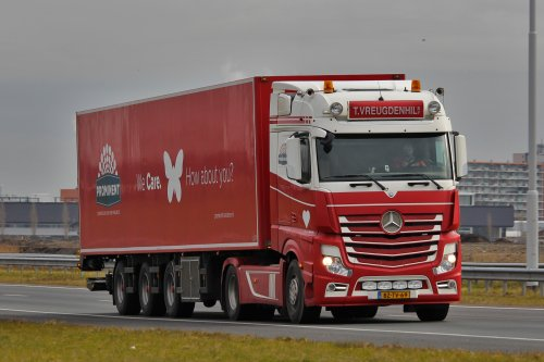 Mercedes-Benz Actros MP4 (vrachtwagen), foto van Lasse Helderman Photography