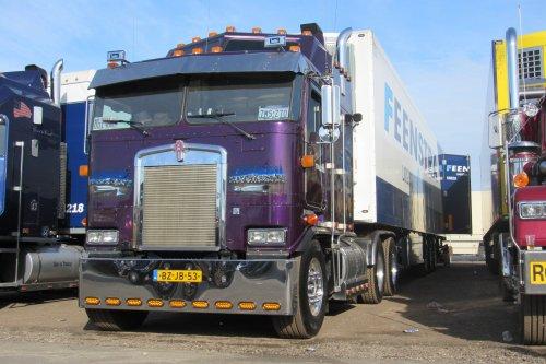 vrachtwagen Kenworth, foto van coen-ensing