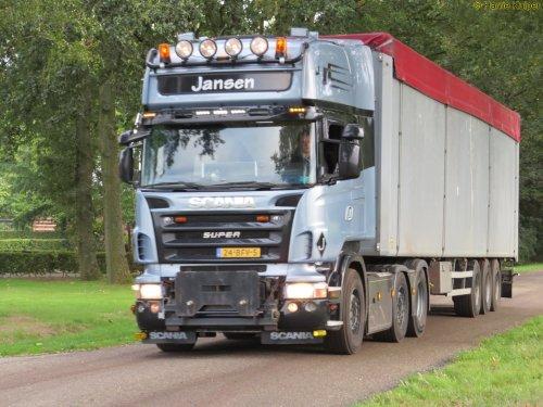 vrachtwagen Scania, foto van oldtimergek