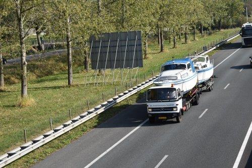 vrachtwagen Mercedes, foto van truckspotterhgk