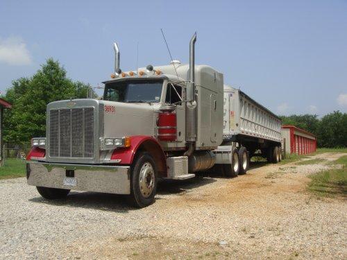 vrachtwagen Peterbilt, foto van stijn-de-bock