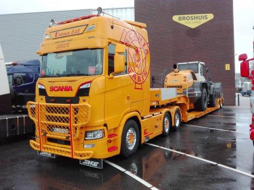 vrachtwagen Scania, foto van coen-ensing