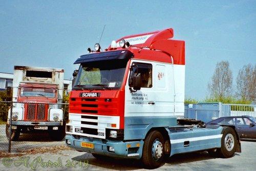 vrachtwagen Scania, foto van bernard-dijkhuizen