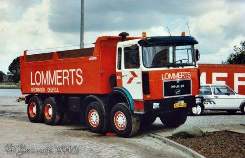 vrachtwagen M.A.N., foto van bernard-dijkhuizen