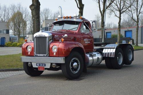 vrachtwagen Mack, foto van NSTF Truck Fotografie