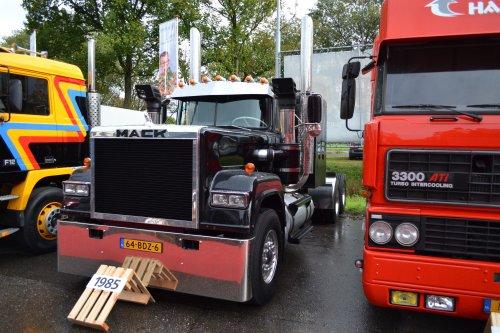 vrachtwagen Mack, foto van coen-ensing