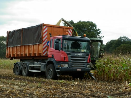 vrachtwagen Scania, foto van XC 70