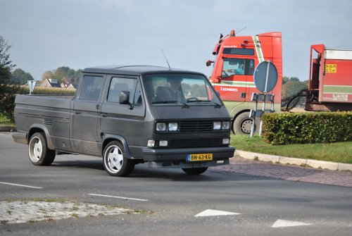 VW Transporter T3 van Lucas Ensing