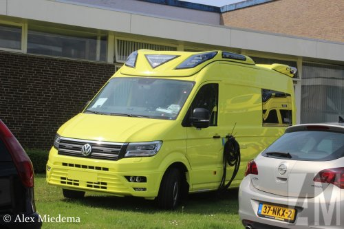 VW Crafter 2nd gen, foto van Alex Miedema