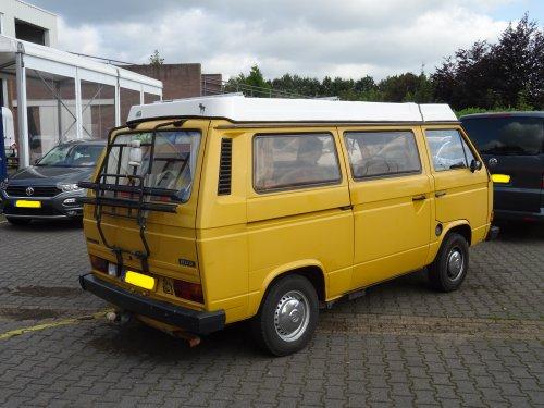 VW Transporter T3, foto van dickt