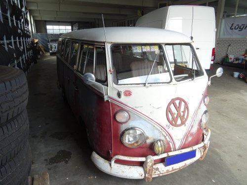 VW Transporter T1, foto van dickt