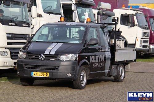 VW Transporter T5, foto van Katy Kleyn