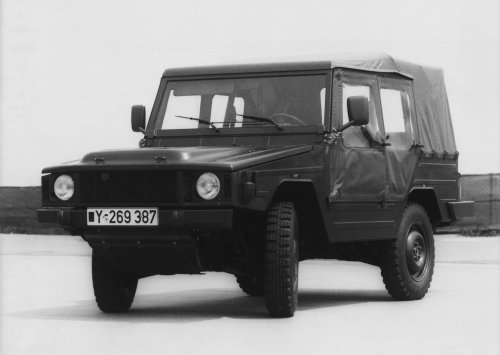 VW Iltis Typ 183, foto van Truckfan Nieuwsposter