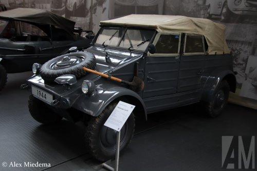 VW Typ 82 Kübelwagen, foto van Alex Miedema