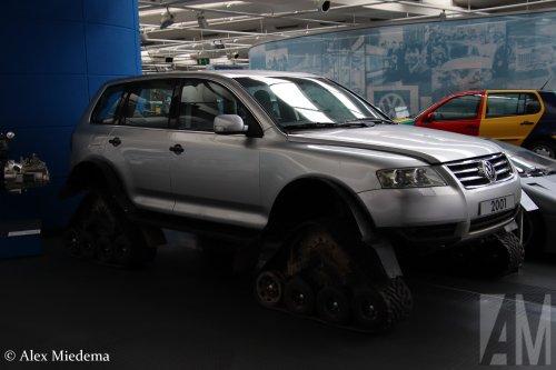 VW Touareg, foto van Alex Miedema