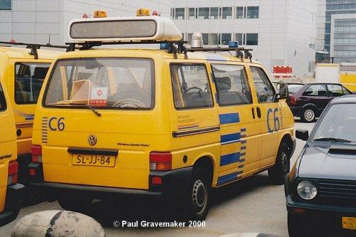VW Transporter T4, foto van Paul Gravemaker