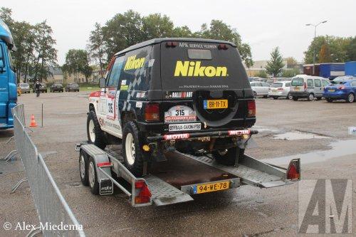 Wesco aanhangwagen, foto van Alex Miedema