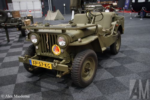 Willys CJ3A, foto van Alex Miedema