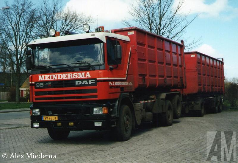 DAF 95 De reden om Meindersma Metslawier voor het voetlicht te halen? Heel simpel: omdat ze zowel nu als in het verleden met mooi materieel werk(t)en!