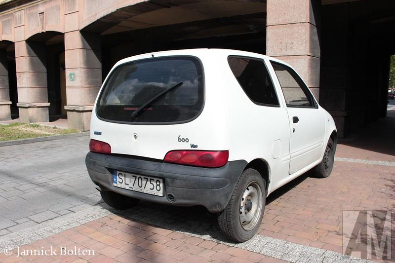 FIAT 600 Van