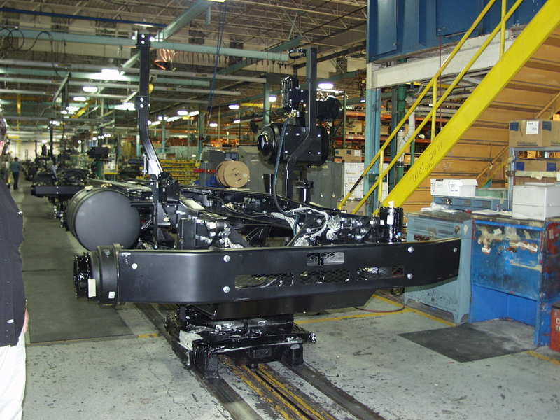 Mack chassis