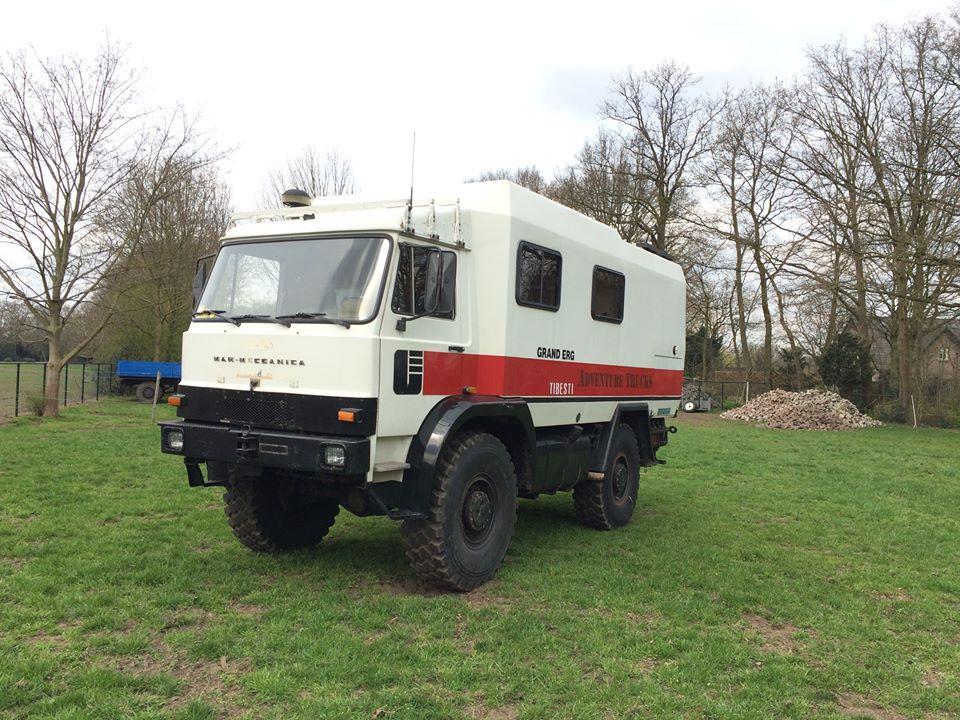 Man-Meccanica is in 1985 in het Italiaanse Masera di Padova opgericht en bouwde offroadtrucks van 5 tot dertien ton GVW. Deze waren niet alleen uitgerust met de club-van-vier-cabine, vaak ook, zoals het exemplaar van Erik, met een Iveco Zeta cabine. Van dit exemplaar zijn overigens de motor en versnellingsbak vervangen door die van een Iveco Turbo. Ondanks dat de naam anders doet vermoeden is er overigens geen enkele band met het Duitse MAN.f99