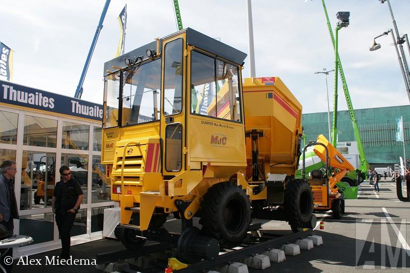 MdC Dumper Rail Route 5 tonnes