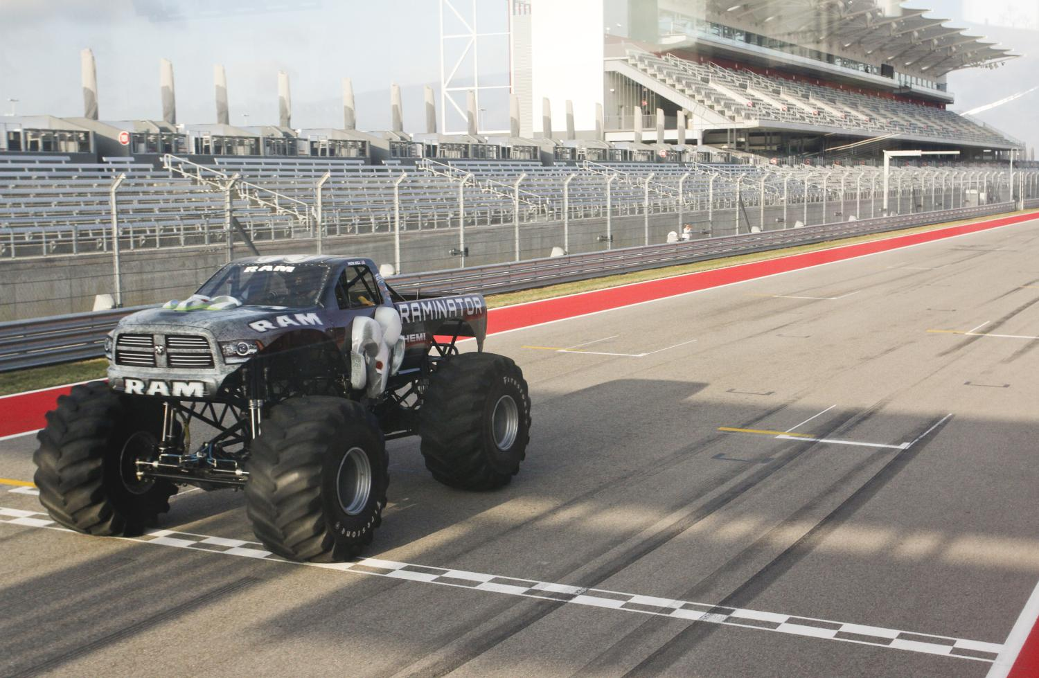 Auburn Hills, Mich. - Raminator, a monster truck sponsored by the Ram Truck brand, has broken the Guinness World Records® record for the