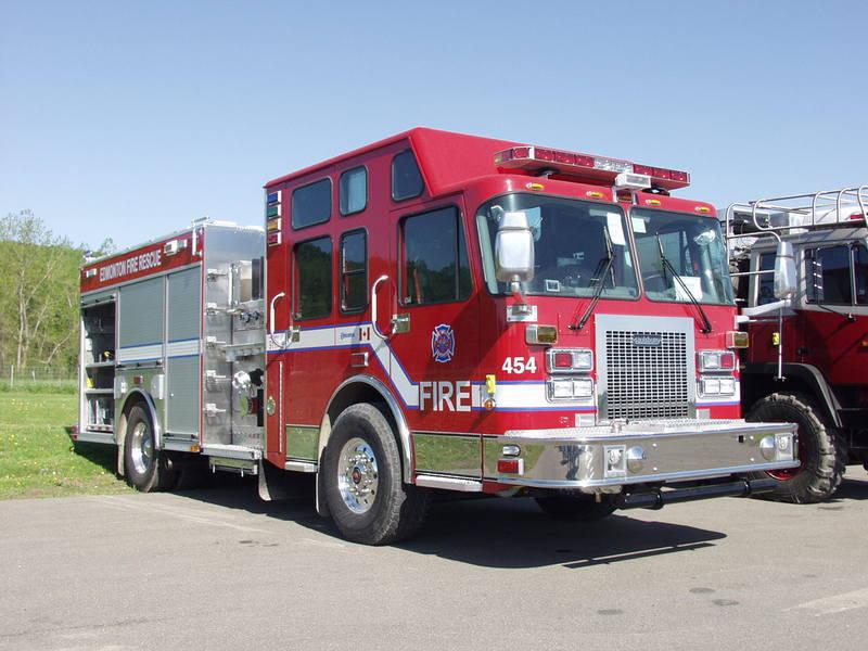 Saulsbury brandweerwagen