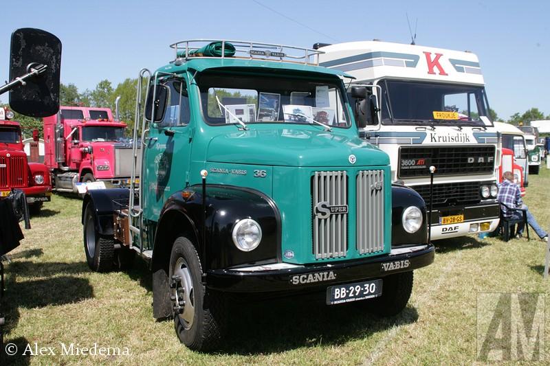 Scania-Vabis Vabis L36 was van 1964 tot en met 1968 in productie. Hij had een viercilinder 5-liter motor die in de reguliere uitvoering 90 pk leverde en in de 'Super' uitvoering, met turbo, maar liefst 120 pk. Toen Scania-Vabis de naam veranderd naar Scania en de 0-serie op de markt kwam, werd de L36 opgevolgd door de L36