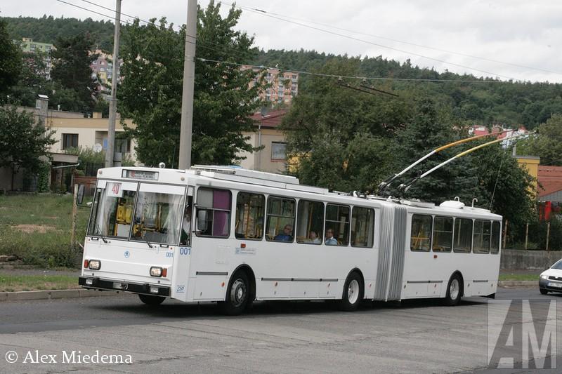 Skoda trolleybus