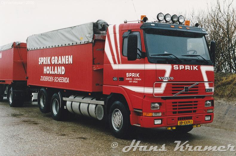 Volvo FH12 1st gen BD-XX-92